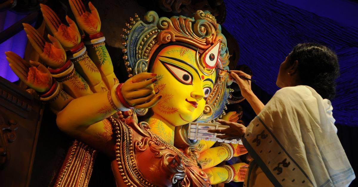 বাংলায় দুর্গা পুজো বন্ধ করার চক্রান্ত করছে মোদীর বিজেপি, মারাত্মক অভিযোগ মমতার/The News বাংলা