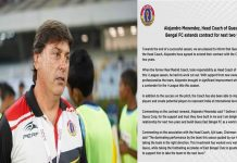 Extension of East Bengal Spanish Coach/The News বাংলা