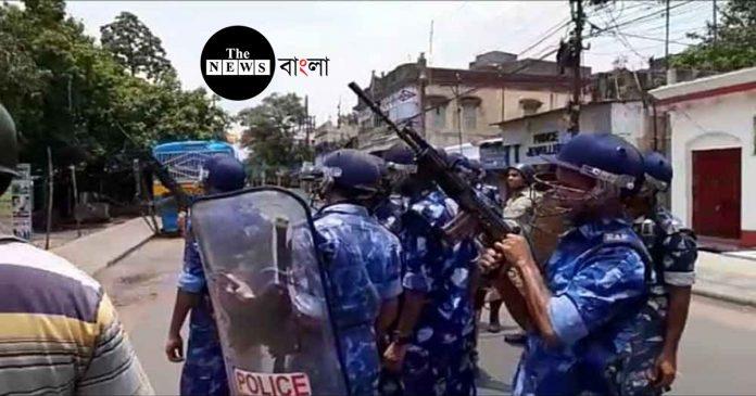 এখনও উত্তপ্ত ভাটপাড়া, এলাকায় বন্ধ করা হল ইন্টারনেট পরিষেবা/The News বাংলা
